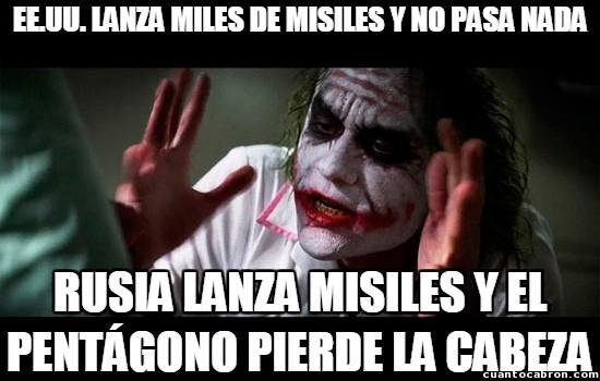 Joker - ¡Lo hemos dicho misiles de veces!