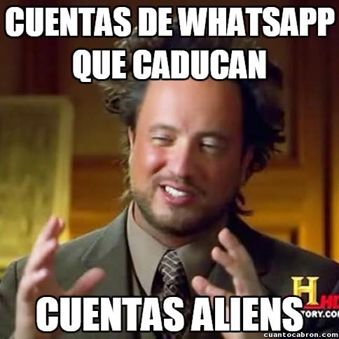 Ancient_aliens - El misterio de las cuentas de WhatsApp