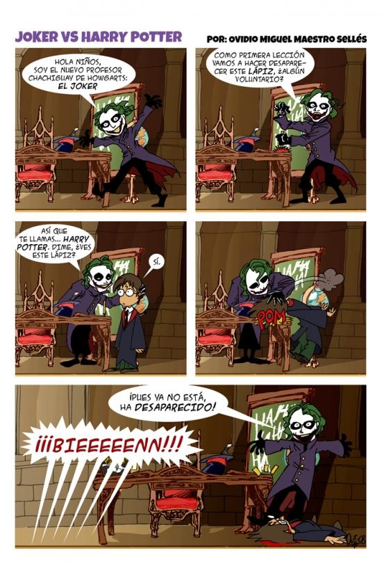 Otros - ¿Qué pasaría si el Joker fuese el maestro de las artes oscuras de Hogwarts?