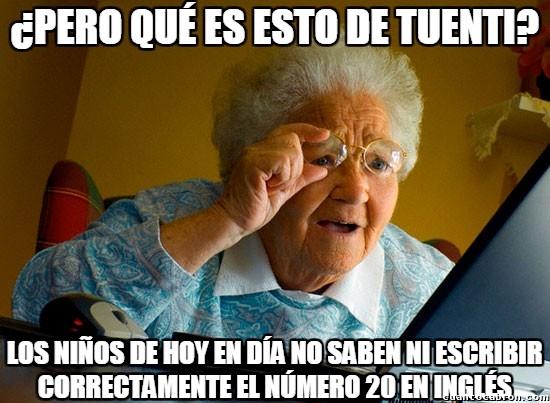 Abuela_sorprendida_internet - Las profesoras de inglés también acaban siendo abuelas poco puestas en tecnología