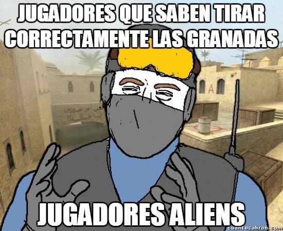 Meme_otros - ¿Las granadas son para usarlas contra el enemigo?