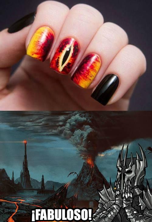 Meme_otros - La satisfacción de Mordor