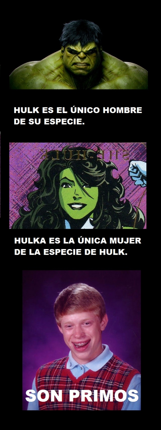 Bad_luck_brian - Pobre Hulk