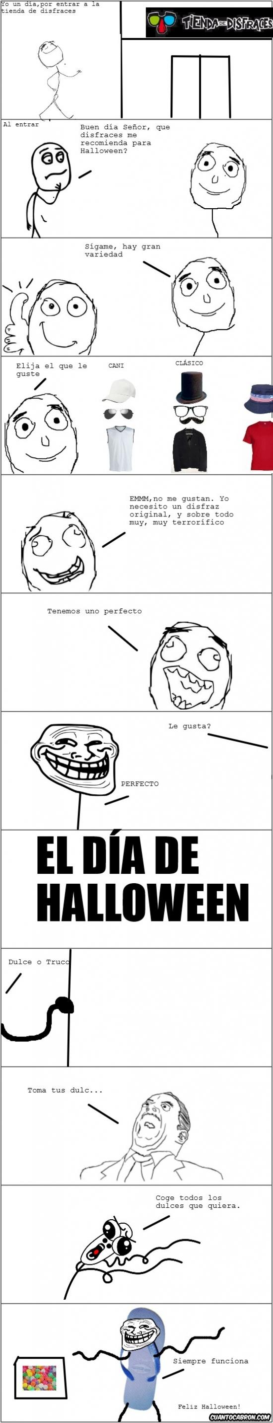 Trollface - El mejor disfraz para asustar