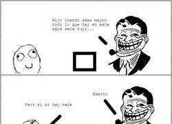 Enlace a Trolldad siempre al acecho