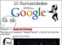 Enlace a Curiosidades sobre Google
