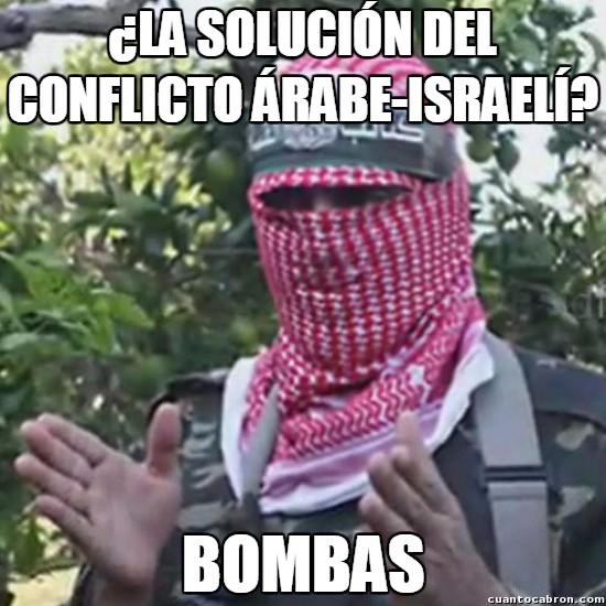 Meme_otros - Así resulta difícil que una guerra pueda llegar nunca a su fin