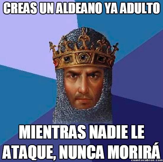 Age_of_empires - En Age of Empires tú eres el dios