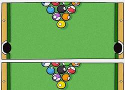 Enlace a Lo que pasa realmente al jugar al billar