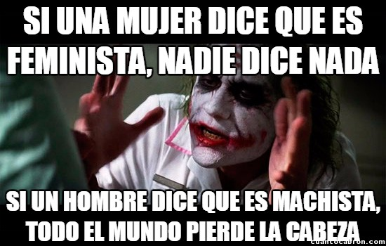 Joker - Machismo vs. Feminismo, una batalla perdida y estúpida