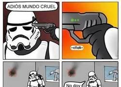 Enlace a La puntería de un Stormtrooper