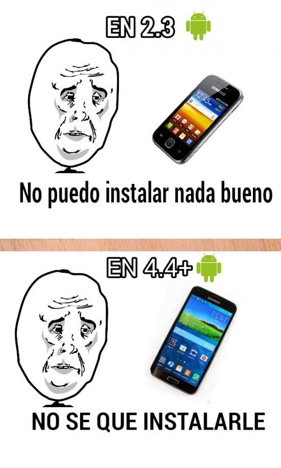 Okay - La rabia del sistema operativo Android y su evolución
