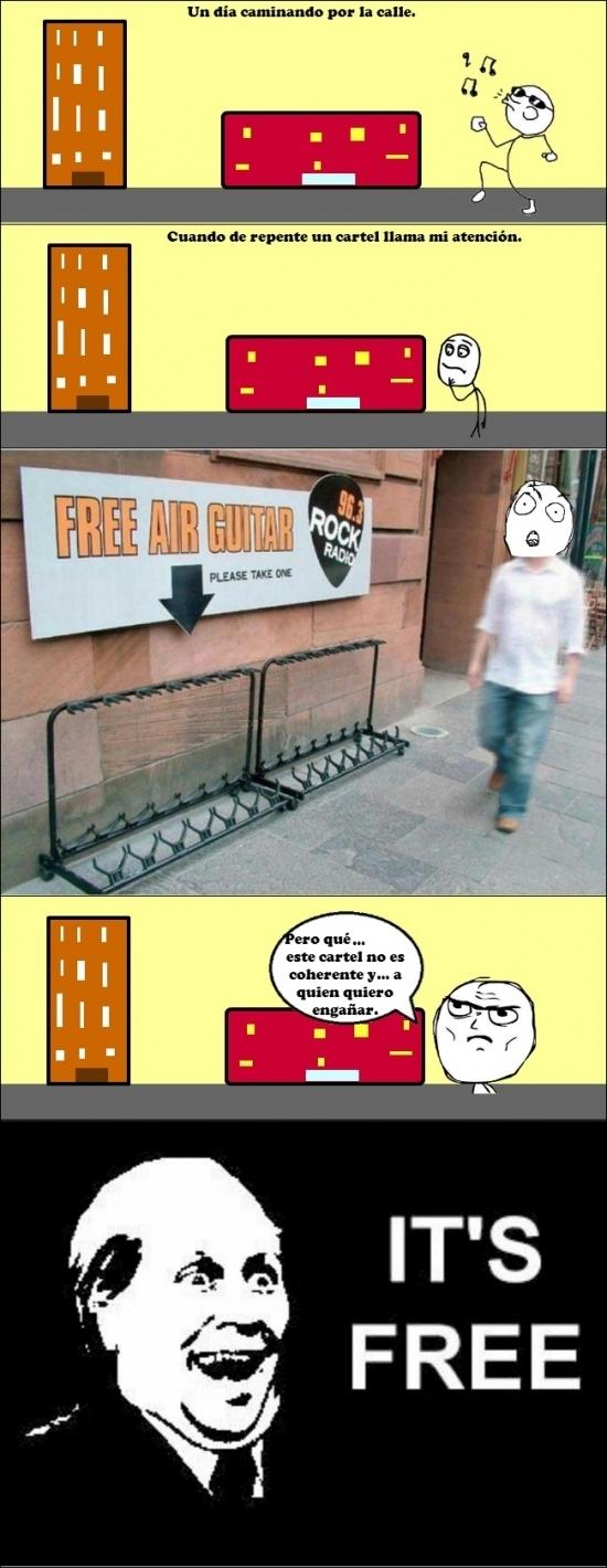 Its_free - Cuando algo es gratis, no puede faltar él