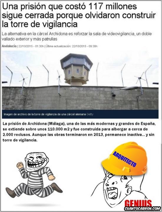 Otros - Planificación genius de una prisión