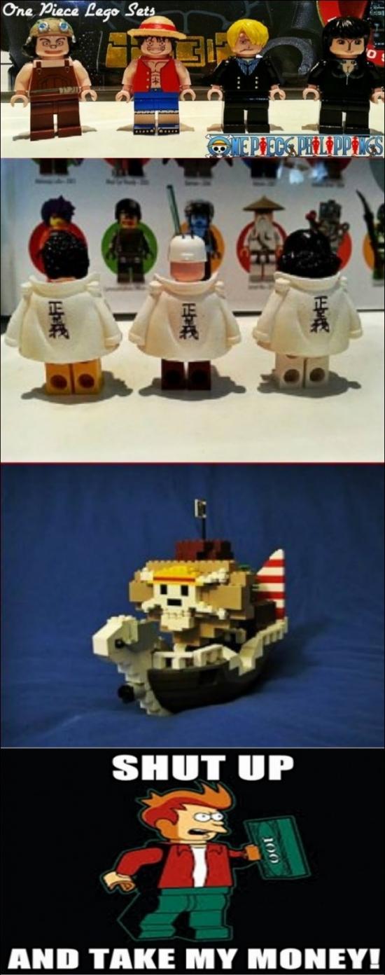Fry - Sin duda alguna los Legos no pasan de moda