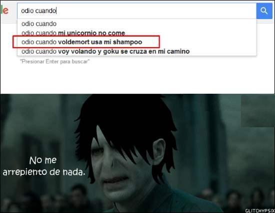Otros - Voldemort no se arrepiente de nada