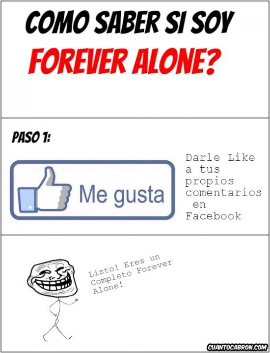 Trollface - Los Forevers Alones, se distinguen fácilmente