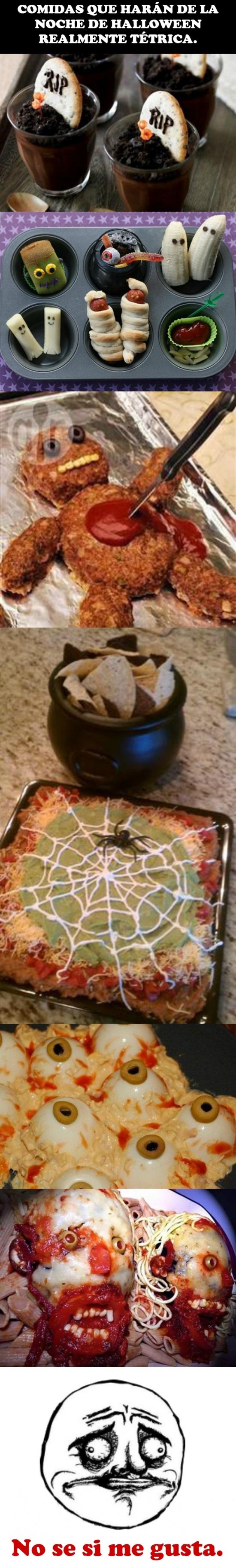 Me_gusta - La mejor comida para un Halloween escalofriante
