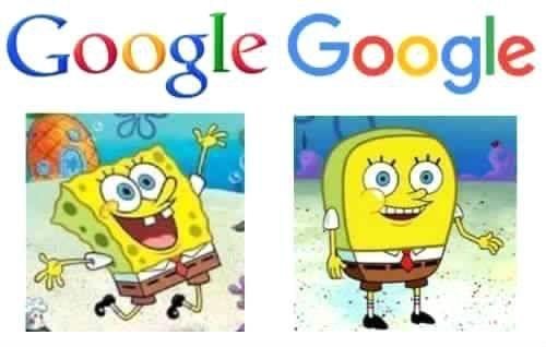 Meme_otros - El cambio repentino en el logo de Google visto de otra manera