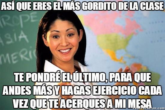 Profesora_cabrona - Oh, qué buena profesora, preocupándose por la salud de sus alumnos...