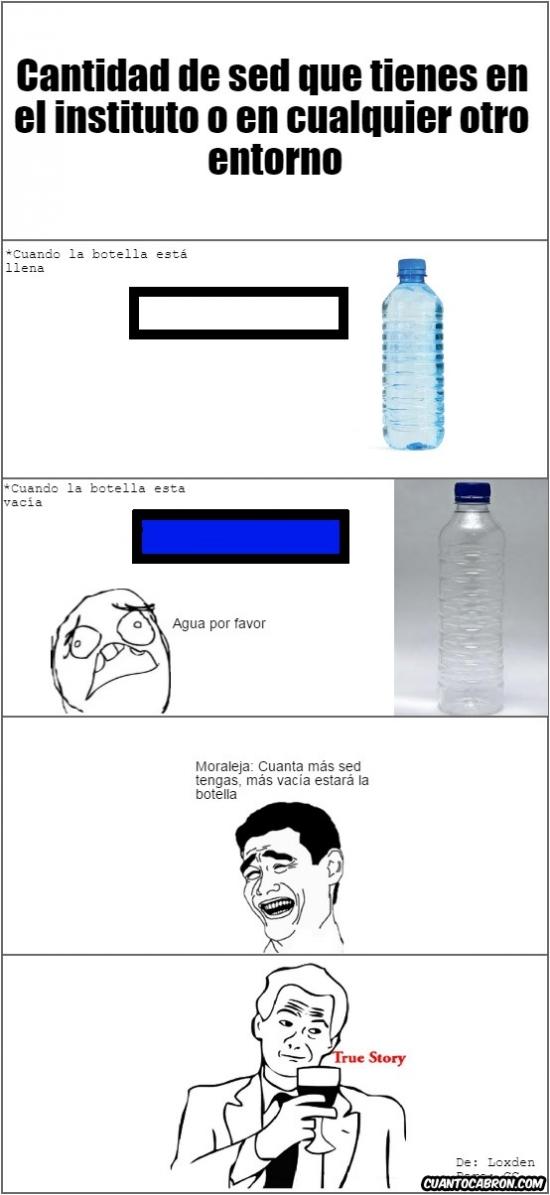 Yao - La sed y la cantidad de agua siempre son inversamente proporcionales