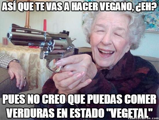 Abuela_amenazas - Algo que tu abuela no está dispuesta a permitir