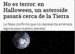 Enlace a Por suerte tendremos un Halloween tranquilos sin nada que nos destruya