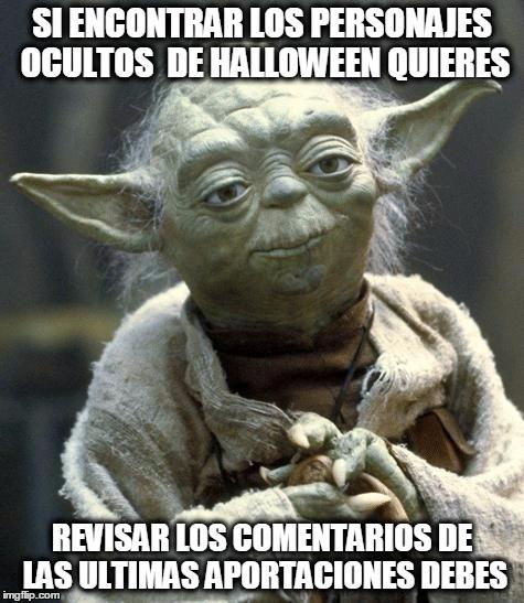 Meme_otros - Yoda dando consejos para los logros