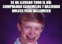 Enlace a Pobre Brian, ni los niños quieren celebrar Halloween con él...