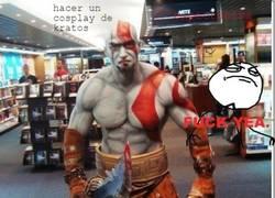 Enlace a Hay dos formas de hacer un cosplay de Kratos