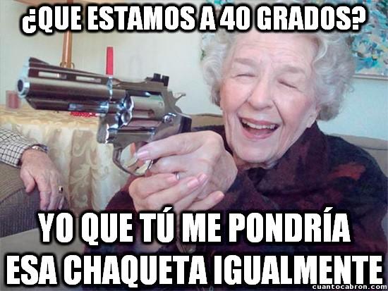 Abuela_amenazas - Las abuelas y su concepto del frío