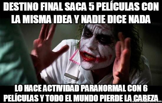 Joker - De igual manera son la misma cosa