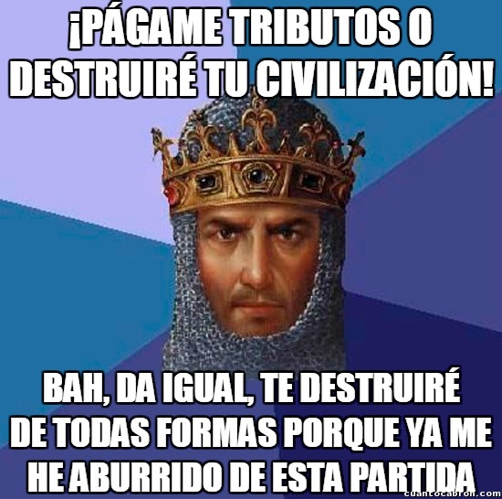 Age_of_empires - En Age of Empires no todos conocen la misericordia