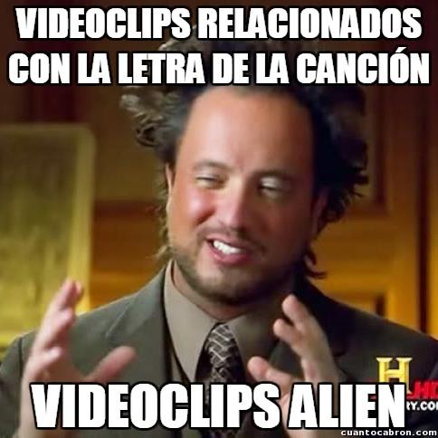 Ancient_aliens - ¿En qué demonios piensan los que hacen los videoclips?