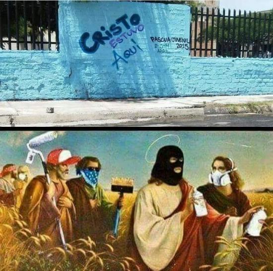 Meme_otros - El grafitero más sagrado de todos