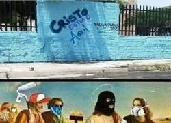 Enlace a El grafitero más sagrado de todos