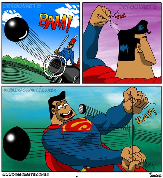 Otros - Ni con bombas podrán hacer caer a Superman