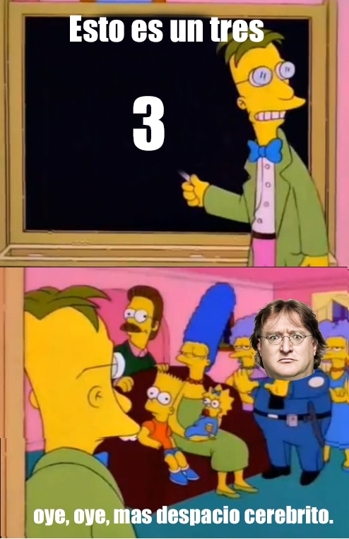 Meme_otros - ¿Quién no sabe contar hasta 3?