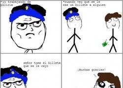 Enlace a El duro trabajo de la policía