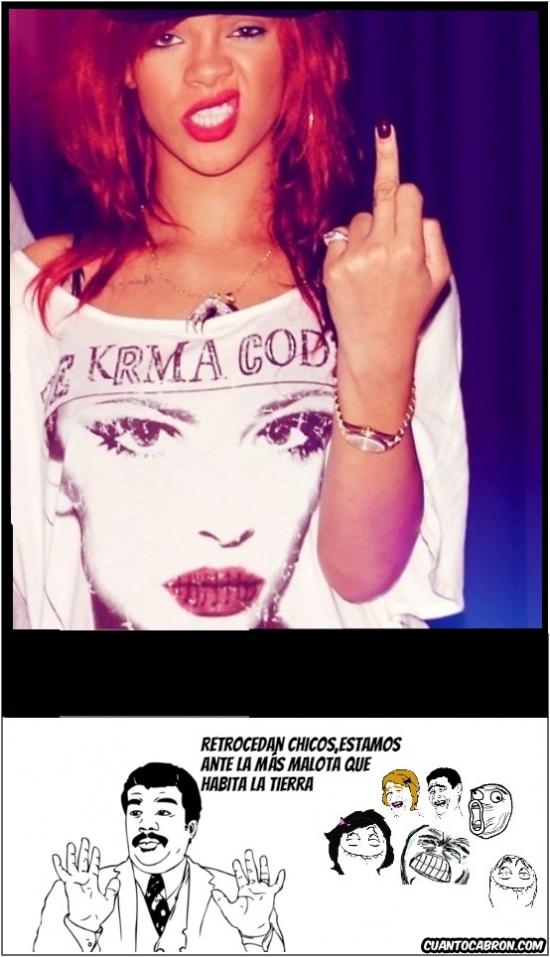 Chicos,Malota,que mala,Rihanna,Tierra