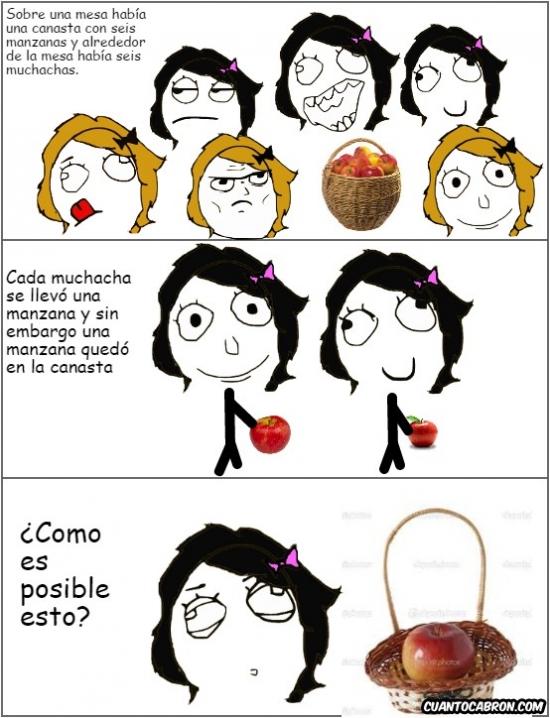 Otros - El misterio de la canasta de las manzanas