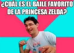 Enlace a El bailde favorito de Zelda