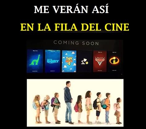 Meme_otros - Con las películas de animación que vienen...