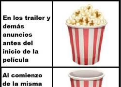 Enlace a Así funciona el consumo de palomitas en el cine