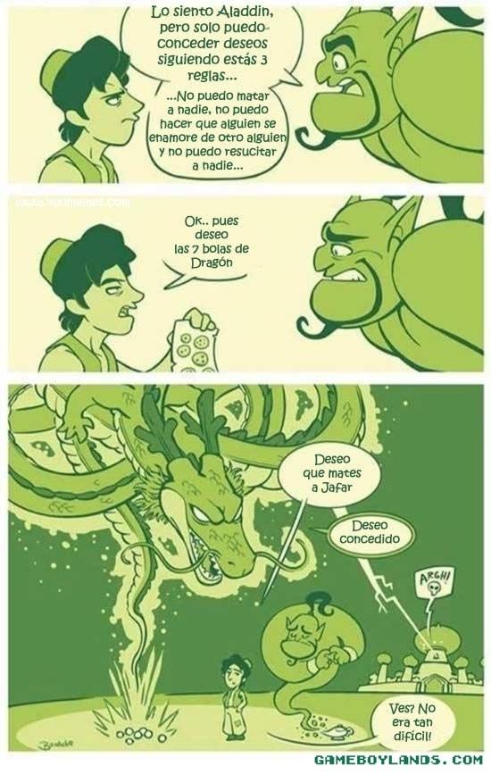 Otros - Las limitaciones del Genio no las tiene el Dragón