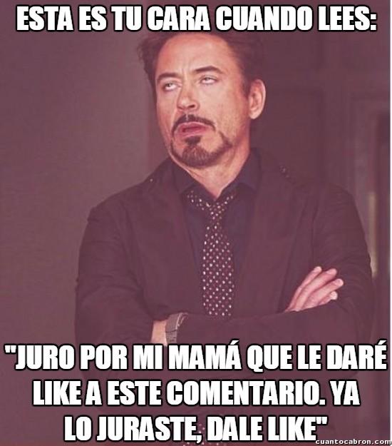 Meme_otros - ¡Estúpidos mendigos de likes!