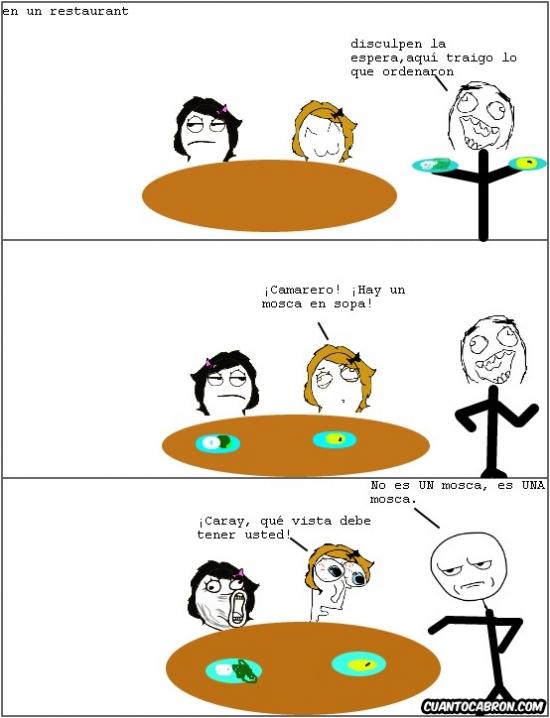 Kidding_me - Un camarero con súper visión