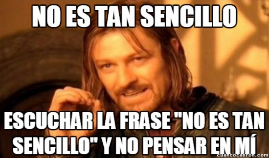 Boromir - Frases que se han hecho más famosas por memes que por pelis