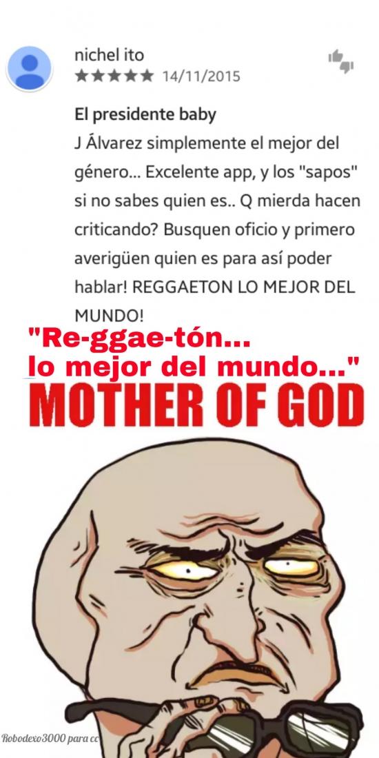 Mother_of_god - Hay que respetar todos los gustos, pero esto es pasarse