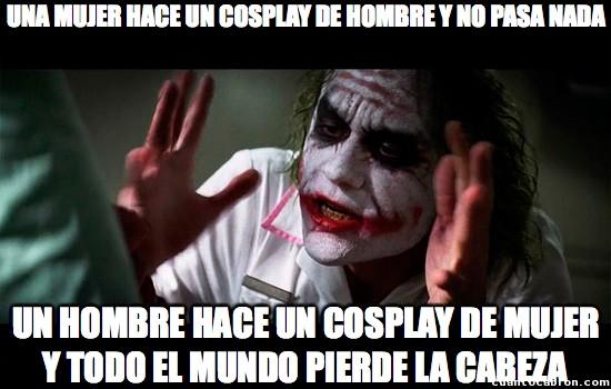 Joker - Cosplays que rezuman poca igualdad
